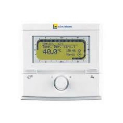 thermostat d 39 ambiance filaire modulant fr 100 elm leblanc. Black Bedroom Furniture Sets. Home Design Ideas