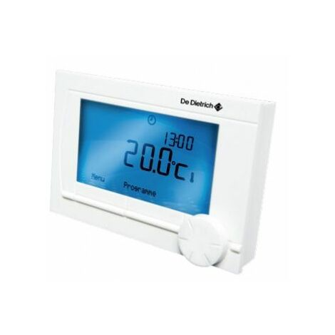 Thermostat dAmbiance Filaire Modulant Programmable AD 304 De Dietrich