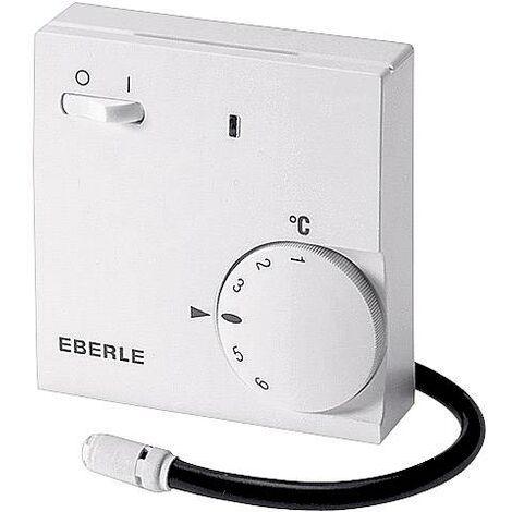 Thermostat d'ambiance montage apparent (en saillie) Eberle FR-E 52531/i programme journalier 10 à 60 °C X99548