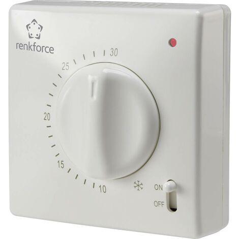 Thermostat dambiance montage apparent (en saillie) Renkforce TR-93 5 à 30 °C