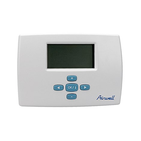Airwell wired programmable room thermostat