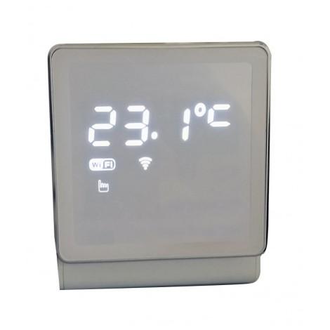 Thermostat dambiance programmable sans fil connecté Sannover thermique Cloudwarm Tout ou rien ou modulant compatible toutes chaudières