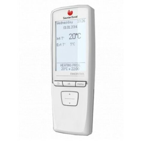 Thermostat dAmbiance Sans Fil Modulant Programmable Exacontrol E7R B-B