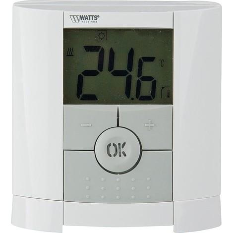 Thermostat d'ambiance radio electronique, Type BT-D-FR 868 MHZ sans fil - digital
