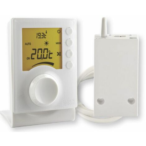 Thermostat d'ambiance radio pour chaudière ou PAC non réversible TYBOX - TYBOX 33