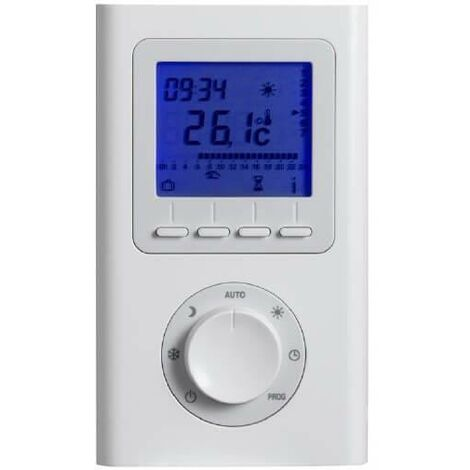 Thermostat d'ambiance RF-PROG Radio Fréquence ACOVA 894160