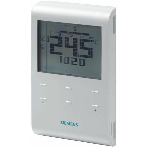 Thermostat d'ambiance sans fil avec programme horaire RDE100,1RF - SIEMENS