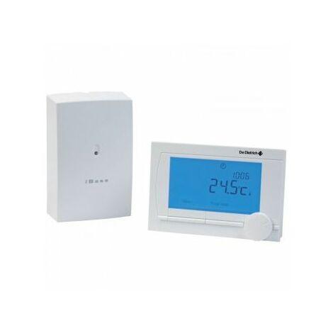 Thermostat dambiance Sans Fil Modulant Programmable AD 303 De Dietrich