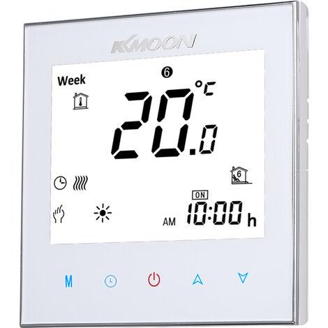 Thermostat de chauffage par le sol num¨¦rique KKmoon Distribuer une ligne de capteur NTC