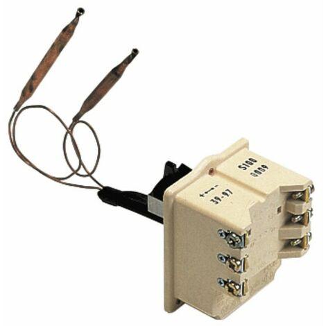 Thermostat de chauffe eau COTHERM - Type BTS 700 modèle à 2 bulbes - COTHERM : BTS6001407