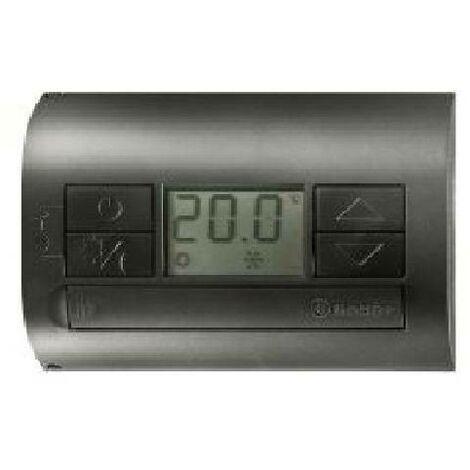 Thermostat de pile numÉrique avec murs noir 1t3190032000