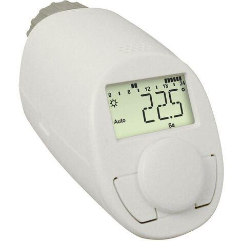 Thermostat de radiateur eqiva N CC-RT-N / 132231 électronique 5 à 29.5 °C 1 pc(s)