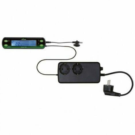 Thermostat digital à deux circuits pour terrarium Reptiland Trixie