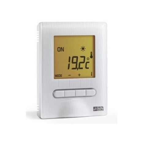 Thermostat digital MINOR 12 pour plancher ou plafond rayonnant - Delta Dore