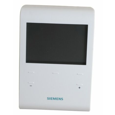 Thermostat d'ambiance programmable 230V - SIEMENS : RDE100