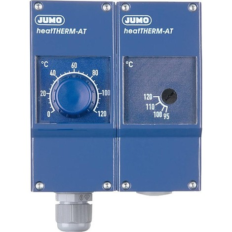 """Thermostat double chauf. HeatTH. AT Type 603070/0120, 0..120°C/70 ..130°C R 1/2"""""""""""