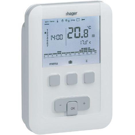 Thermostat EK520 à piles - HAGER : EK520