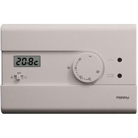 Thermostat électronique avec interrupteur été/off/Hiver - Perry