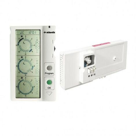 Thermostat électronique programmable ChronoPass + fil pilote