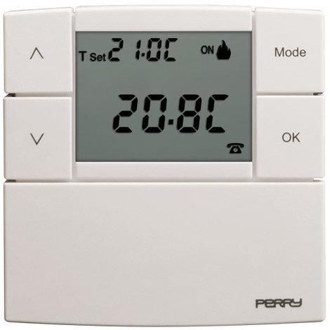 Thermostat électronique Zefiro avec 3 niveaux de température 230V - Perry