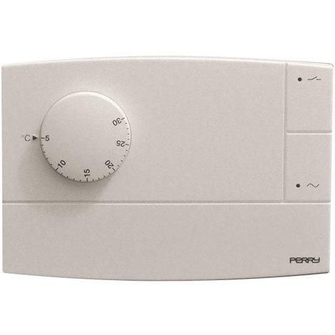 Thermostat électronique Zefiro avec voyant couleur blanc - Perry