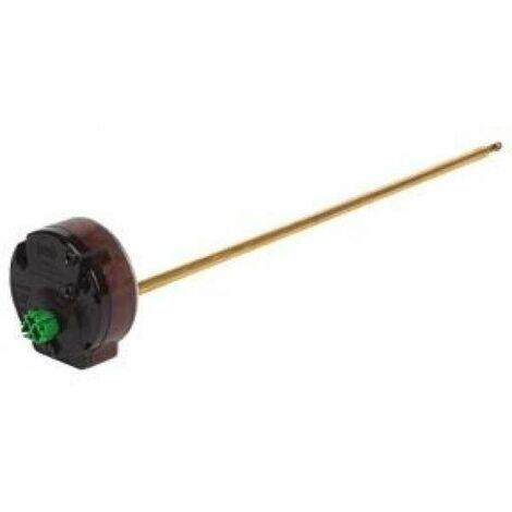 Thermostat embrochable 280mm pour chauffe-eau, coupure et sécurité