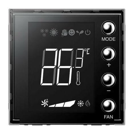 Thermostat encastré Bticino Axolute d'affichage avec 2 modules H4691
