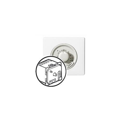 Thermostat fil pilote Legrand celiane blanc complet