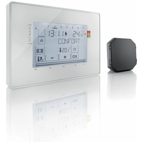 "main image of ""Thermostat fil pilote Somfy avec récepteur radio - 2401244"""