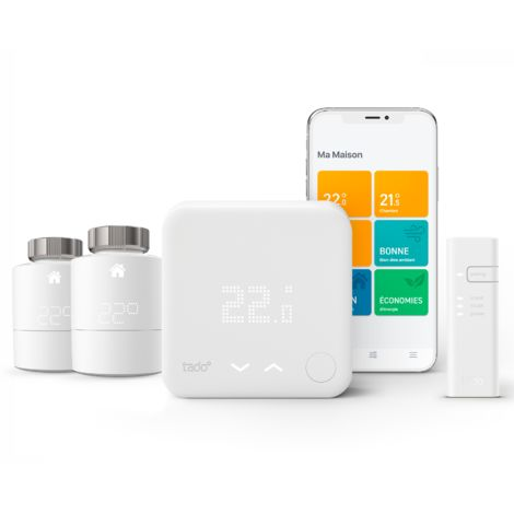Thermostat Intelligent Kit de démarrage V3+ et 2 têtes