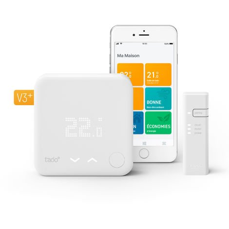 Thermostat Intelligent - Kit de démarrage V3+ - TADO