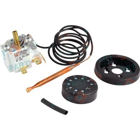 Thermostat Lg règlable 40-84°C Pour : CFE 400-400E / CFE 800-800E / CFE/CFM 300-300E Réf. 81044745