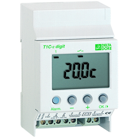 Thermostat modulaire multi-usages T1C-2 DIGIT