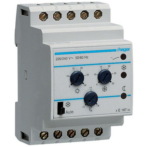 Thermostat multiconsignes (HAG EK187)