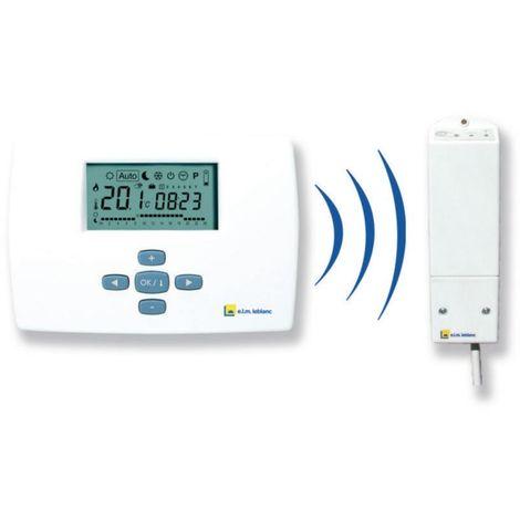 Thermostat mural programmation hebdomadaire avec radio fréquence Colis TRL 7.26RF