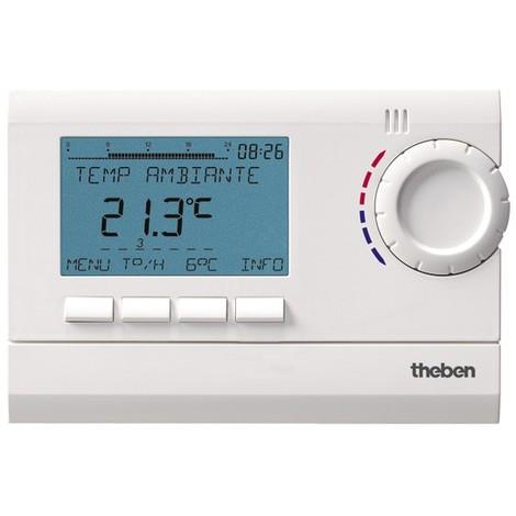 Thermostat Programmable digital Secteur RAMSES 812 top2 Theben