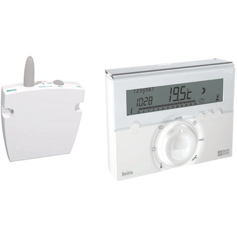THERMOSTAT PROGRAMMABLE RADIO DELTIA 8.03 - DELTA DORE