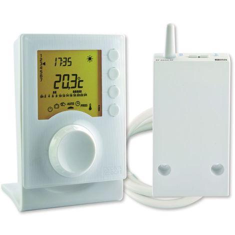 Thermostat programmable radio TYBOX 137 Delta Dore 6053007