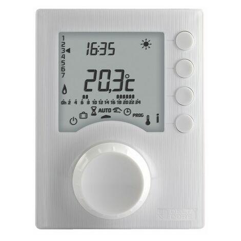 Thermostat programmable TYBOX 117 - 2 niveaux de consigne - Delta Dore