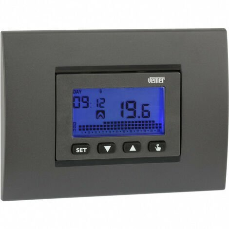 Thermostat Programmable Vemer Dafne hebdomadaire collection 230V VE431300
