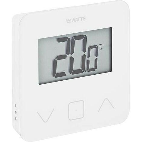 Thermostat radio avec ecran tactile-verre BT-D03-RF-GT Watts Vision