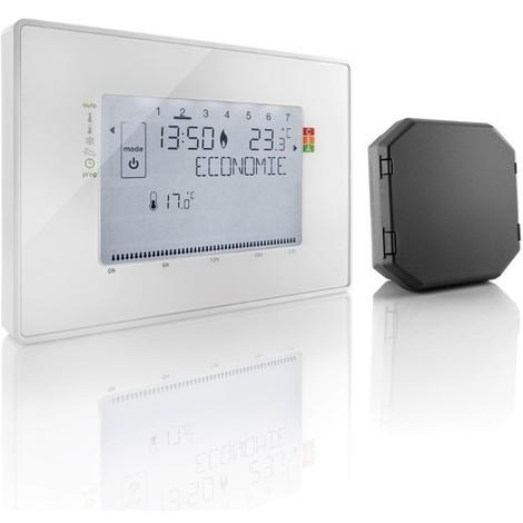 Thermostat radio + récepteur à contact sec
