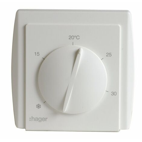 Thermostat simple à membrane 54185 - HAGER : 54185
