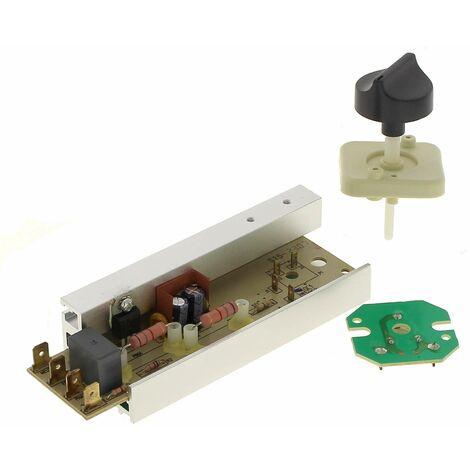 Thermostat + support + bouton pour Seche-serviettes Calor