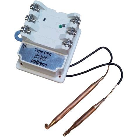 Thermostat triphasé à bulbe GPC 30A Réf. 70051 ATLANTIC ELECTRIQUE