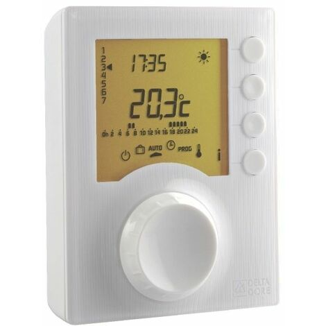 Thermostat TYBOX 1117 à piles - DELTA DORE : 6053005