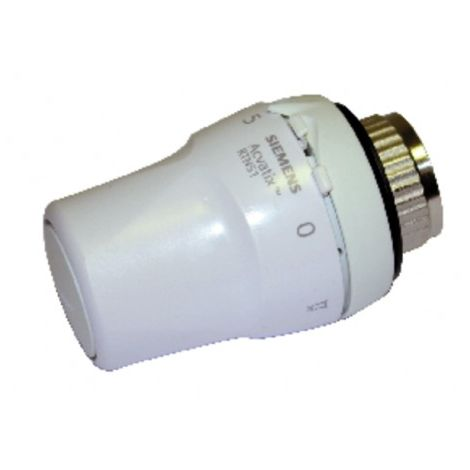 Thermostatic head for radiator valve RTN51 - SIEMENS : RTN51G