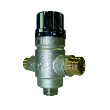 Thermostatic mixing valve 1/2 male