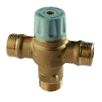 Thermostatic mixing valve 3/4 male