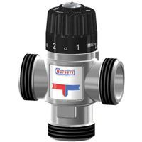 """Thermostatic Mixing Valve Mid Port Mixed Water 30-65C 3,5m3/h 5/4"""" Male BSP"""